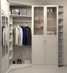 Гардеробная комната. Хранение сезонной одежды