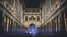 Greob - Light Painting - Light Art  - Uffizi, Firenze, Italy - 2016 #lightpainting #lightart #Italy #florence #uffizi #firenze