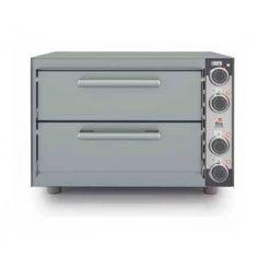 Horno Pizza Doble Cámara HP-233 fm. Horno de gran calidad para la cocción de pizzas. Superficie de cocción de material refractario de alta calidad