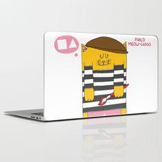 Pablo Meow-casso Laptop & iPad Skin