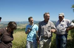 visita a La Maliosa, Inaugurazione del Podere Santa Francesca biodynamic farm