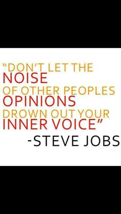 #inner #voice #inspiration #motivation #quotes #wisdom   #AppleWatch #AppleIwatch #Apple Iwatch 2014 #iphonewatch  #Applesmartwatch Get one here http://youtu.be/a65SQ-owiAQ or http://find-careers.com/apple-watch #SteveJobs $19.95