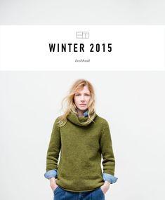 Brooklyn Tweed Winter 15 Lookbook Lookbook featuring the Winter 2015 collection of knitwear from Brooklyn Tweed
