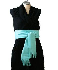 Fabric Belt  Woven Sash  Boho Chic Fashion  by brizel4TheAnimals