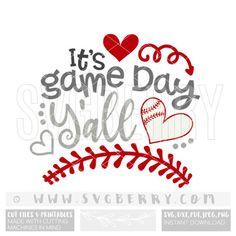 Its Game Day Yall SVG Baseball SvG / baseball shirt by SVGBerry