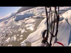 Paramotor Alaskan Glacier - Flight of Fantasy