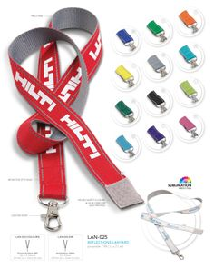 Reflections Lanyard | Corporate Gifts - Lanyards http://www.ignitionmarketing.co.za/corporate-gifts
