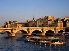"""""""Le Pont Neuf"""" meaning New Bridge in Paris, actually, the oldest. Apparently they did not think others would be added later."""