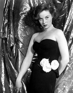 Susan Hayward was also an American actress and fashion leader for elegance in the 1940's.