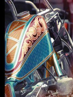 "HD ""Knucklehead"" gas tank | Sportster Frisco style"