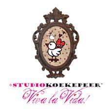 originele kaartjes, serviesspullen en meer... Studio Koekepeer
