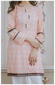 Beautiful Pakistani Dresses, Pakistani Dresses Casual, Pakistani Dress Design, Pakistani Kurta Designs, Churidar Designs, Casual Dresses, Simple Kurti Designs, Kurta Designs Women, Blouse Designs