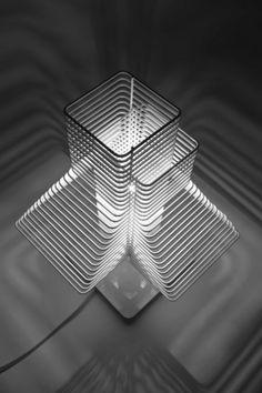 """grown"" lamp design – looks like a tower | lighting . Beleuchtung . luminaires | Design: zavaluce | deco niche |"