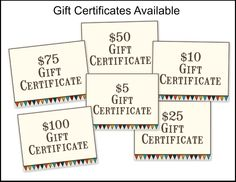 Artistic Outpost: Artistic Outpost Gift Certificate Special