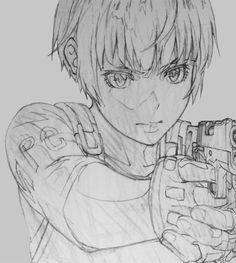 Psycho-Pass - Tsunemori Akane by sugawarakatashi on tumblr