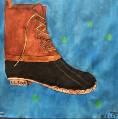 #LLBean Bean Boot art