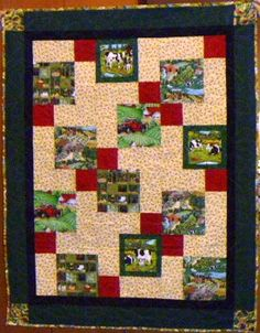 A quilt for the much loved farmer.
