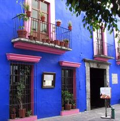 colorful Old Town in Puebla, Mexico
