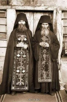 Moines  orthodoxe  russe