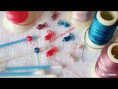 Hiç bir yerde görmediydiniz tasarım pır pırlı bayram şekeri iğne oyası modeli - YouTube Crochet Flower Tutorial, Crochet Flowers, Hand Embroidery Patterns, Crochet Patterns, Arabic Mehndi Designs, Needle Tatting, Crochet Round, Knitting Socks, Crochet Projects