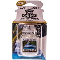 This Coconut Bay Car Jar Ultimate from Yankee Candle reg; can hang in your car or in any small space for up to 4 weeks of fragrance. Fragrance Online, Old Country Stores, Air Freshener, Popcorn Maker, Barrel, Perfume Bottles, Coconut, Jar, Candles