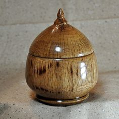 Lidded - Beech Bowl - Hand Made on Etsy, $45.00