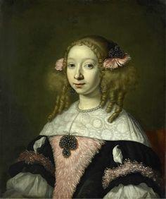 Helst, Lodewijk van der -- Adriana Jacobusdr Hinlopen (geb 1646). Echtgenote van Johannes Wijbrants, 1667