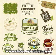 organic farm fresh logo design ideas www.cheap-logo-design.co.uk #farm #organiclogo #freshlogo
