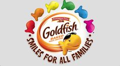 We've Fallen For Goldfish Crackers' Pride Logo... Hook, Line And Sinker