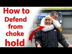How to get out of a Choke Hold | Street fighting - YouTube