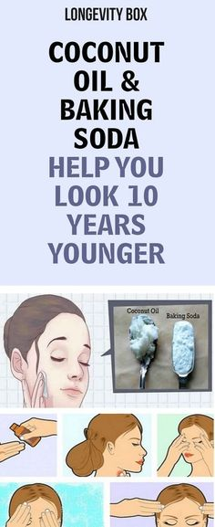 Coconut Oil & Baking Soda Help You Look 10 Years Younger