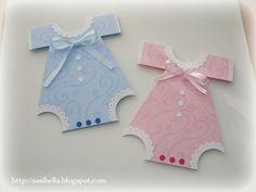 Stempeleinmaleins: Baby Body Karte/Onesie Card