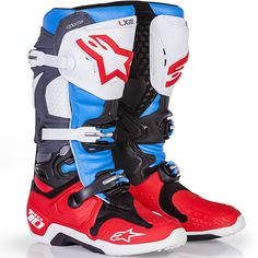 Alpinestars 2017 Tech 10 LE New Jersey Bomber Boots at MXstore