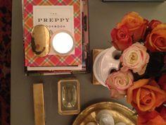 Fresh roses and design books