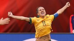 co-captain Lisa De Vanna set to debut for Canberra United Female Soccer Players, Lisa, The Unit, Face, Studs, Woman, Twitter, Inspiration, Fashion