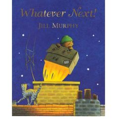 Whatever Next! by Jill Murphy - supports schema enclosure and containing Jill Murphy, The Bear Family, Thing 1, Book People, Day Book, Children's Picture Books, Children's Literature, Day For Night, Bedtime Stories