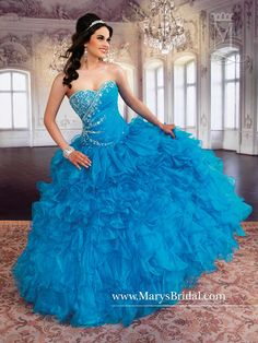 Mary's Bridal Princess Collection Quinceanera Dress Style 4Q769