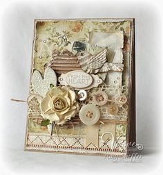 #shabby chic cards shabby chic  again....not jewelry, but if a card was jewelry, this would be it!