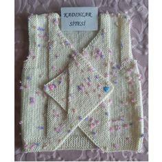 Kolay Ve Kullanışlı Kundak Yelek Yapımı. Baby Knitting Patterns, Knitting For Kids, Knitting Designs, Knit Vest, Moda Emo, Baby Decor, Travel Size Products, Make It Simple, Diy And Crafts
