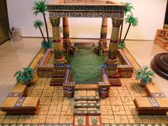 Lady Sabelle's 'Egyptian Bath'