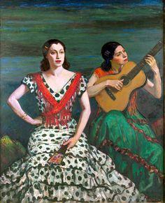 Louis Kronberg (1872-1965): Cante Jondo