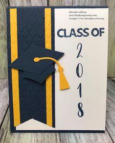 Graduation Cards Handmade, Graduation Crafts, Handmade Cards, Tarjetas Diy, Congratulations Graduate, Fathers Day Cards, Kids Cards, Baby Cards, Graduation Announcements