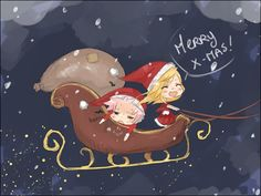 Fairy Tail - Natsu and Lucy - Merry Christmas