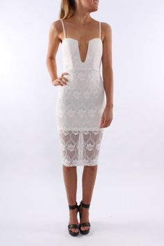 Lacer Midi Dress A Lace Midi dress is perfect this Summer.  A deep V at the front. $55.00 SHOP: http://www.jeanjail.com.au/ladies/lacer-midi-dress.html