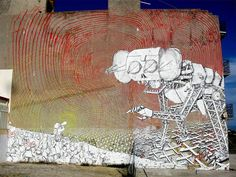 Street Art – A look back on creations by BLU