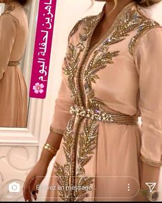 Caftan 2018 Haute Couture Pour Femmes   Future Mariées c7e6adf6a0e