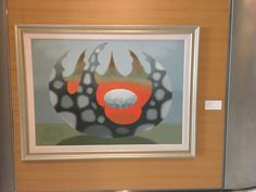 Tadashi Sato painting at First Hawaiian Bank in Honolulu, Hawaii Honolulu Hawaii, Tadashi, Hawaiian, Artists, Frame, Painting, Home Decor, Picture Frame, Artist