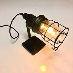 Lamp met Sony speaker steun - Made by de l'Orme Sony Speakers, Mason Jar Lamp, Wall Lights, Table Lamp, Led, Lighting, Design, Home Decor, Repurpose