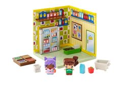 My mini mixieq's: grocery mini room