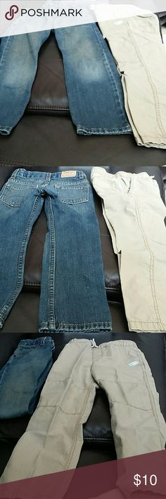 Levi's Strauss & Carter's boy's pants sz 6 bundle Size 6 Levi's Strauss Signature slim straight and Carter's boy's pants bundle.  Good condition, nonsmoking and pet free home. Levi's Bottoms Jeans